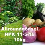 Allroundgödsel NPK 11-5-18 10kg