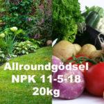 Allroundgödsel NPK 11-5-18 20kg